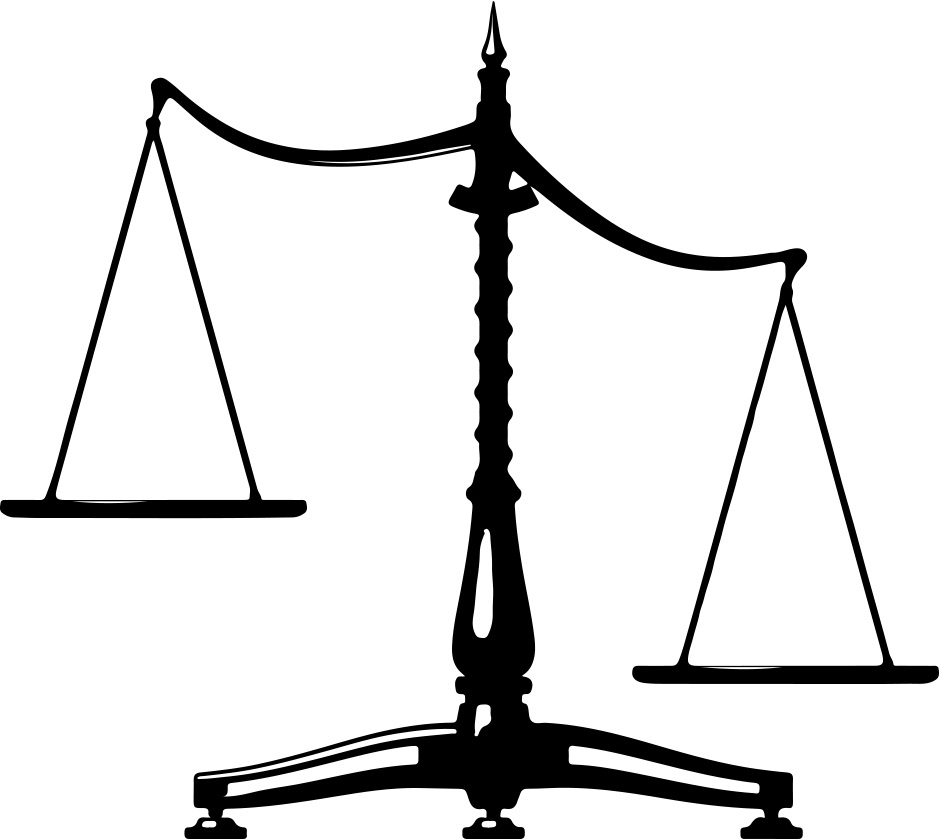 Law Scales Clipart - Clipart Suggest