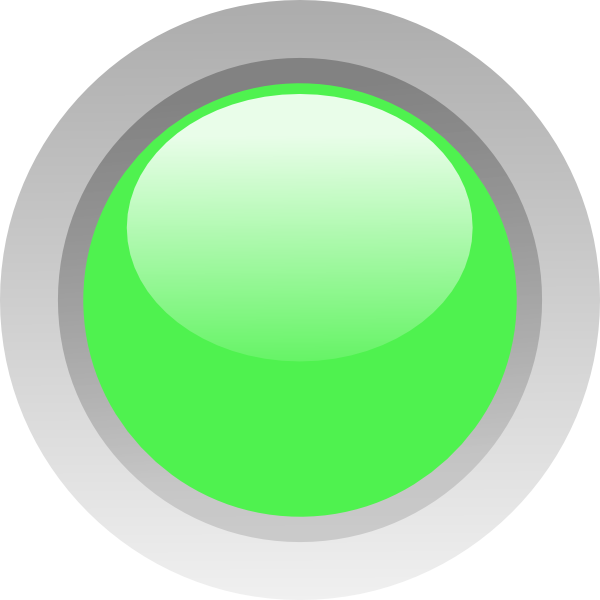 Led Light Green Led Circle Clip Art At Clker Com   Vector Clip Art