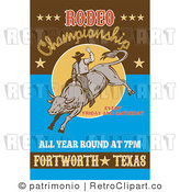 Stock Retro Clipart Of Rodeo Signs Retro Rodeo Sign Retro Rodeo Sign