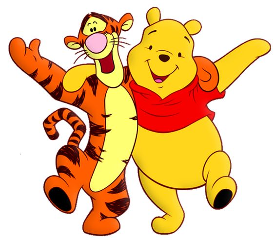 Winnie The Pooh And Tiger Cartoon Png Free Clipart  Tigger Ourson