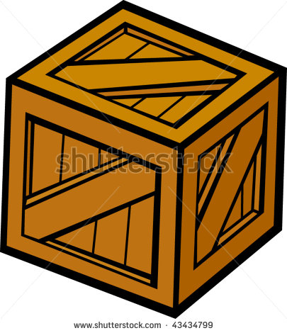 Wooden Box Clipart - Clipart Suggest