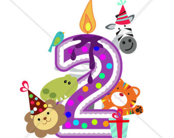 2nd Birthday Clipart
