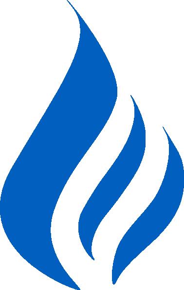 Blue Flame Logo Clip Art   Logos   Download Vector Clip Art Online