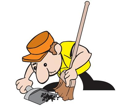Clean Up Crew Clipart