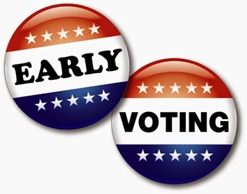 Early Voting Starts On Saturday August 16 2014  Early Voting