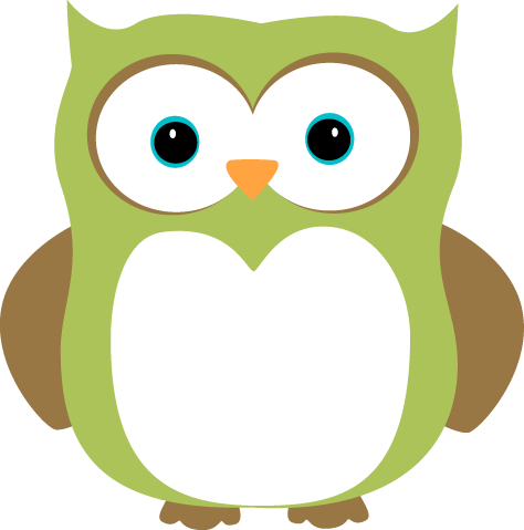 Green Owl Clipart - Clipart Suggest