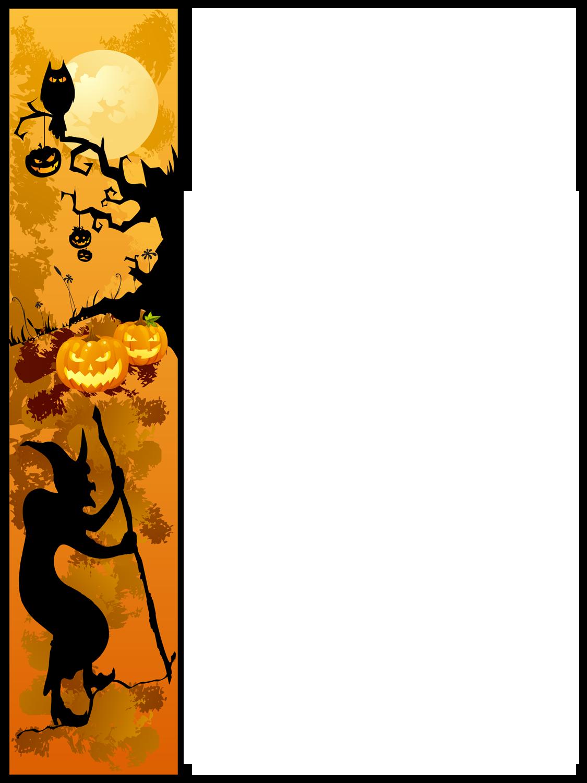 Halloween Border Clipart - Clipart Kid