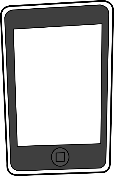 Apple Iphone Clipart - Clipart Suggest