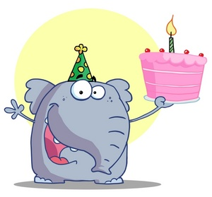 Birthday Cartoon Clipart - Clipart Suggest