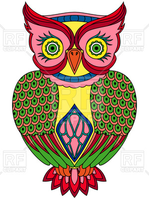 Owl 95229 Plants And Animals Download Royalty Free Vector Clipart