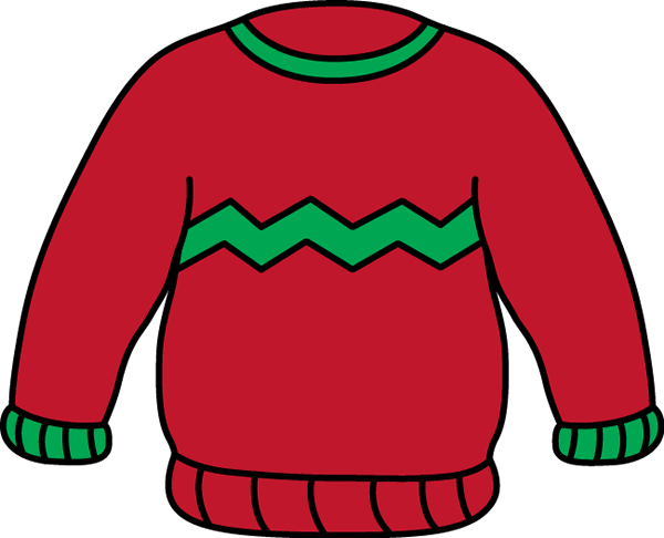 Red Sweater Clip Art Red And Green Sweater Clip Art