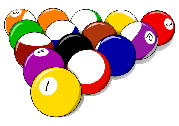 15 Pool Ball Rack   Http   Www Wpclipart Com Recreation Games Pool 15