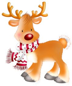 Cute Baby Reindeer Clipart - Clipart Kid