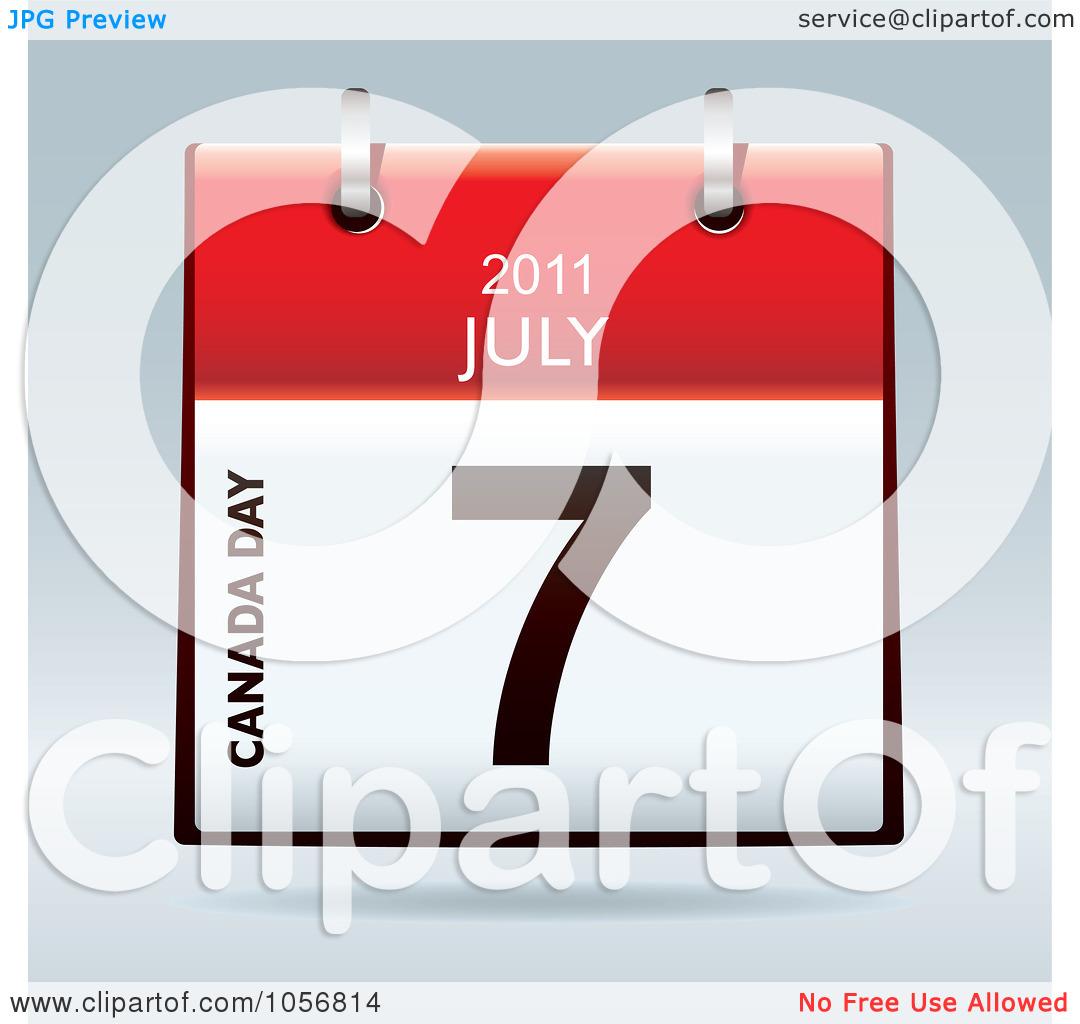 Clip Art Calendar July : July calendar clipart kid