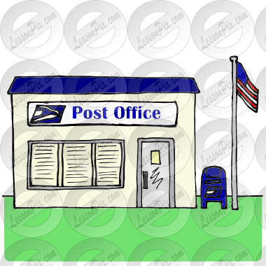Office Picture For Classroom   Therapy Use   Great Post Office Clipart