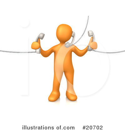 Royalty Free  Rf  Customer Service Clipart Illustration  20702 By 3pod