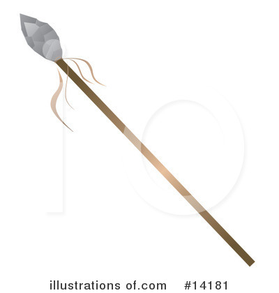 Spear Clipart  14181 By Rasmussen Images   Royalty Free  Rf  Stock
