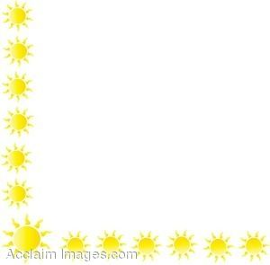 Sun Border   Projects To Try   Pinterest   Sun Clip Art And Google