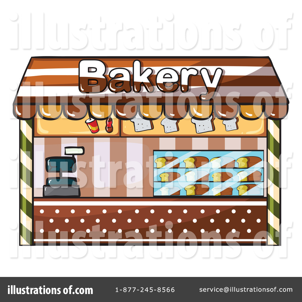 Bakery Clipart  1151182   Illustration By Colematt
