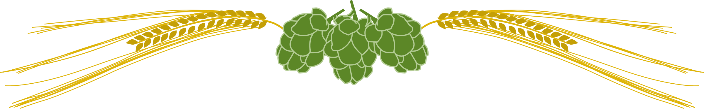 Beer Hop Clipart Clipart   Hops And Barley 2