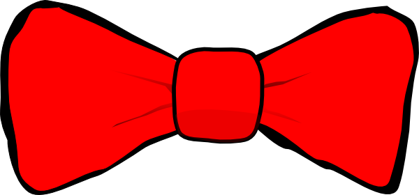 Bow Tie Red Clip Art At Clker Com   Vector Clip Art Online Royalty