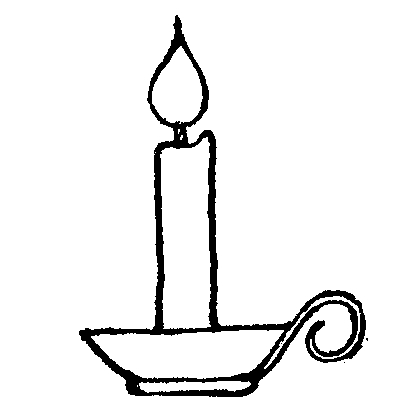 Candle Clipart Black And White   Clipart Panda   Free Clipart Images