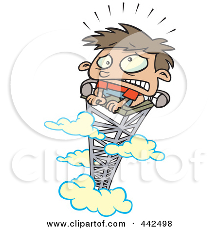 Scared Of Heights Clipart - Clipart Kid
