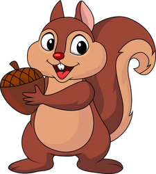 Cute Squirrel Clipart   Clipart Panda   Free Clipart Images