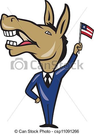 Democrat Clipart Can Stock Photo Csp11091266 Jpg