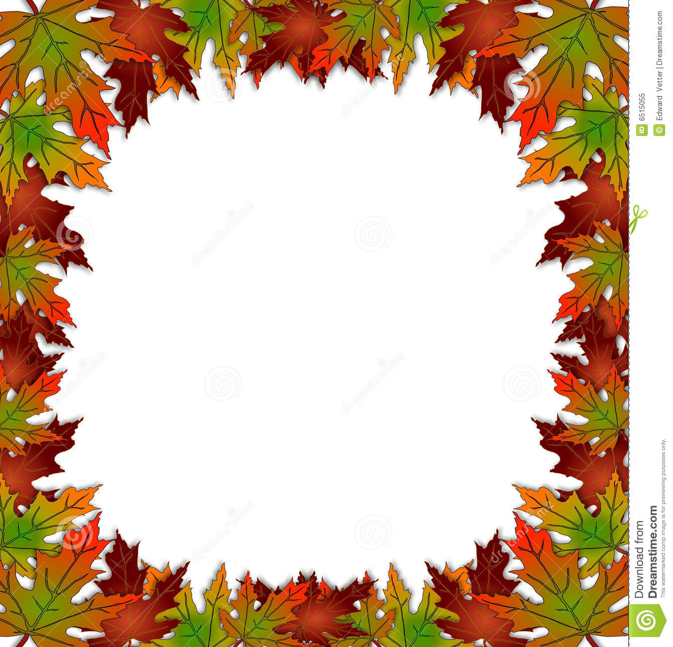 Autumn Borders Clipart - Clipart Kid