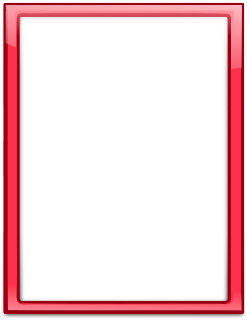 glass frame red vertical http www wpclipart com page frames more