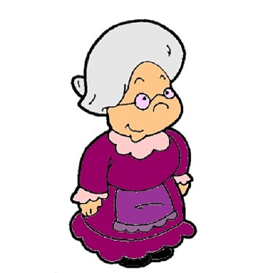 Grandma Cartoon Clipart - Clipart Kid