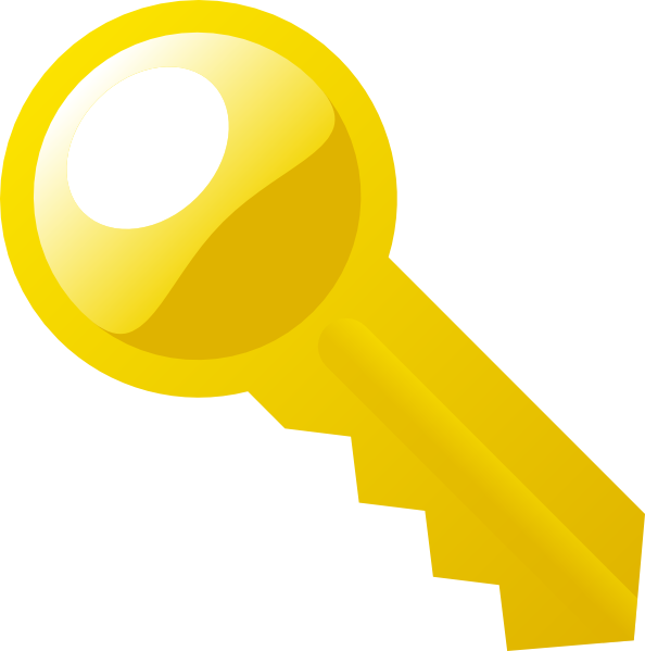Key Clip Art At Clker Com   Vector Clip Art Online Royalty Free