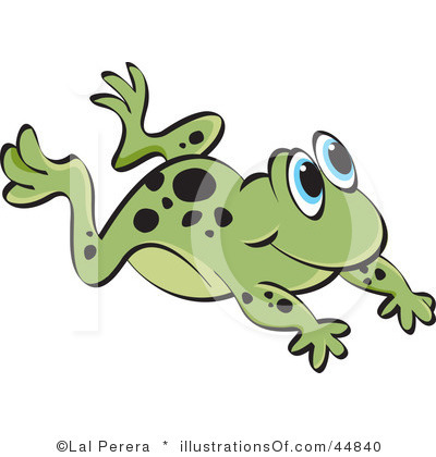 Leaping Frog Clipart - Clipart Kid