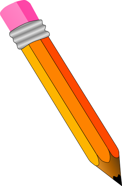 Pencil 3 Clip Art At Clker Com   Vector Clip Art Online Royalty Free
