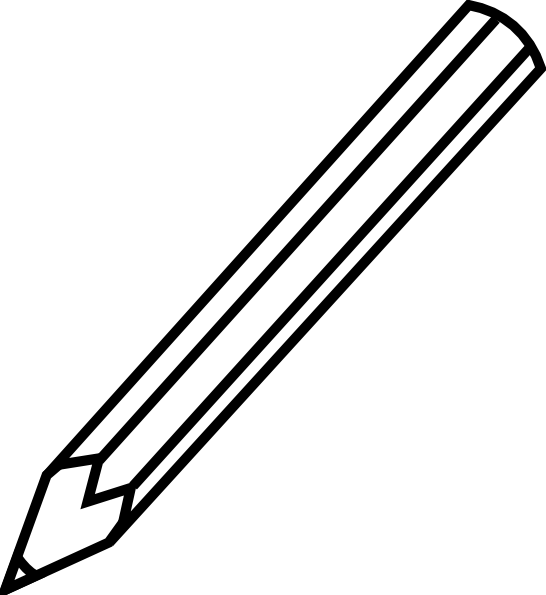 Clip Art Pencil Drawing Clipart Clipart Suggest