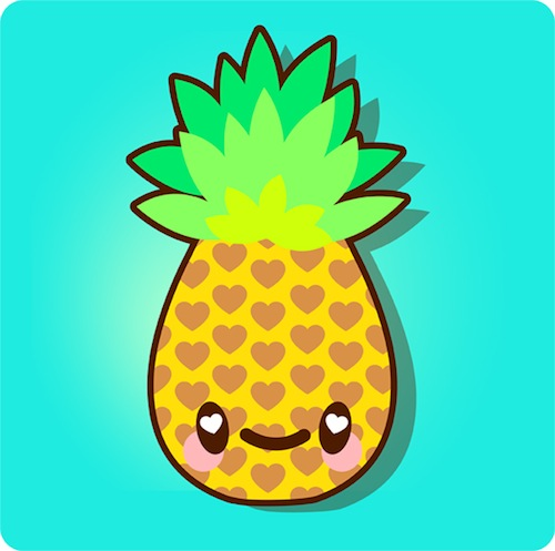 Pineapple Background Tumblr   Clipart Panda   Free Clipart Images