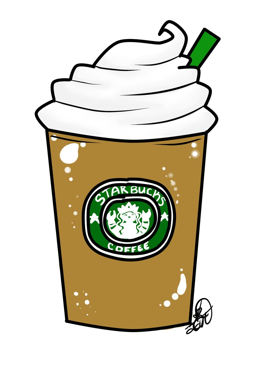 Starbucks Drawing Tumblr Clipart   Free Clipart
