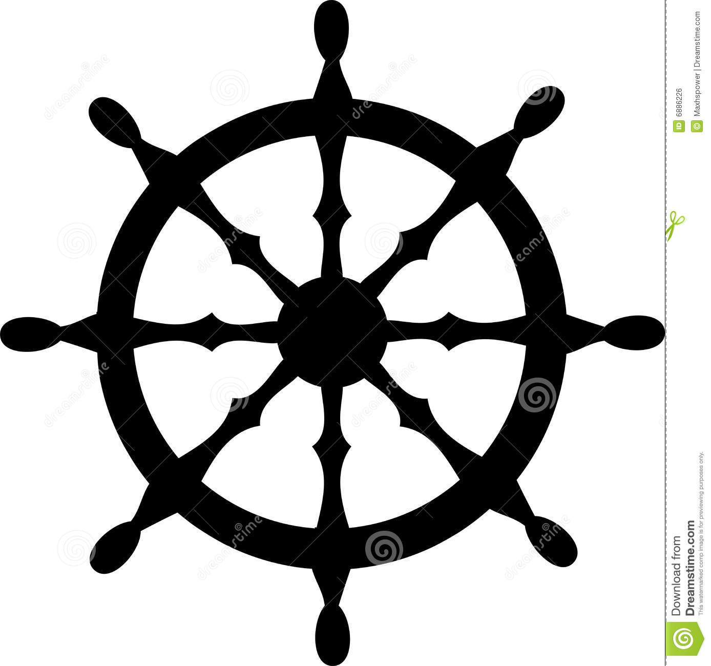 clipart ship steering wheel - photo #14