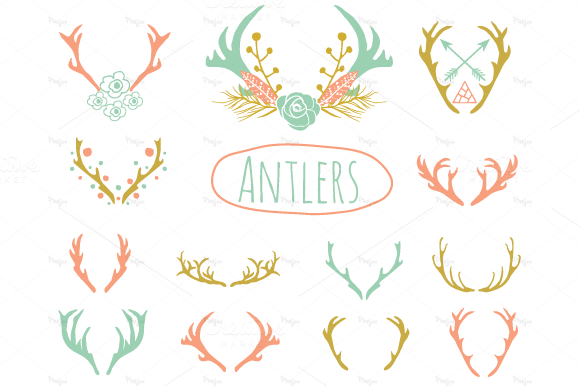 Transparent Antlers Tumblr Antlers Clipart In Eps And Png