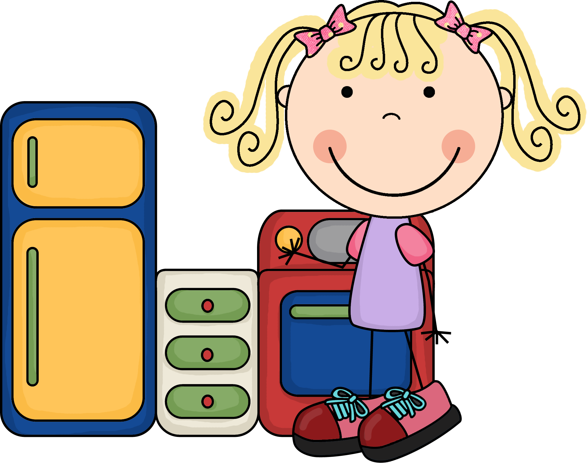 Preschool Centers Clipart - Clipart Kid