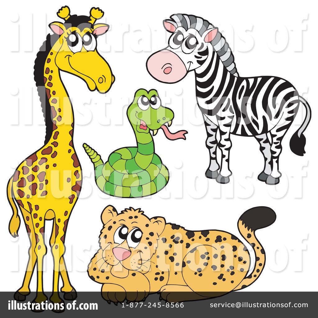 Животные зоопарка рисунки 6