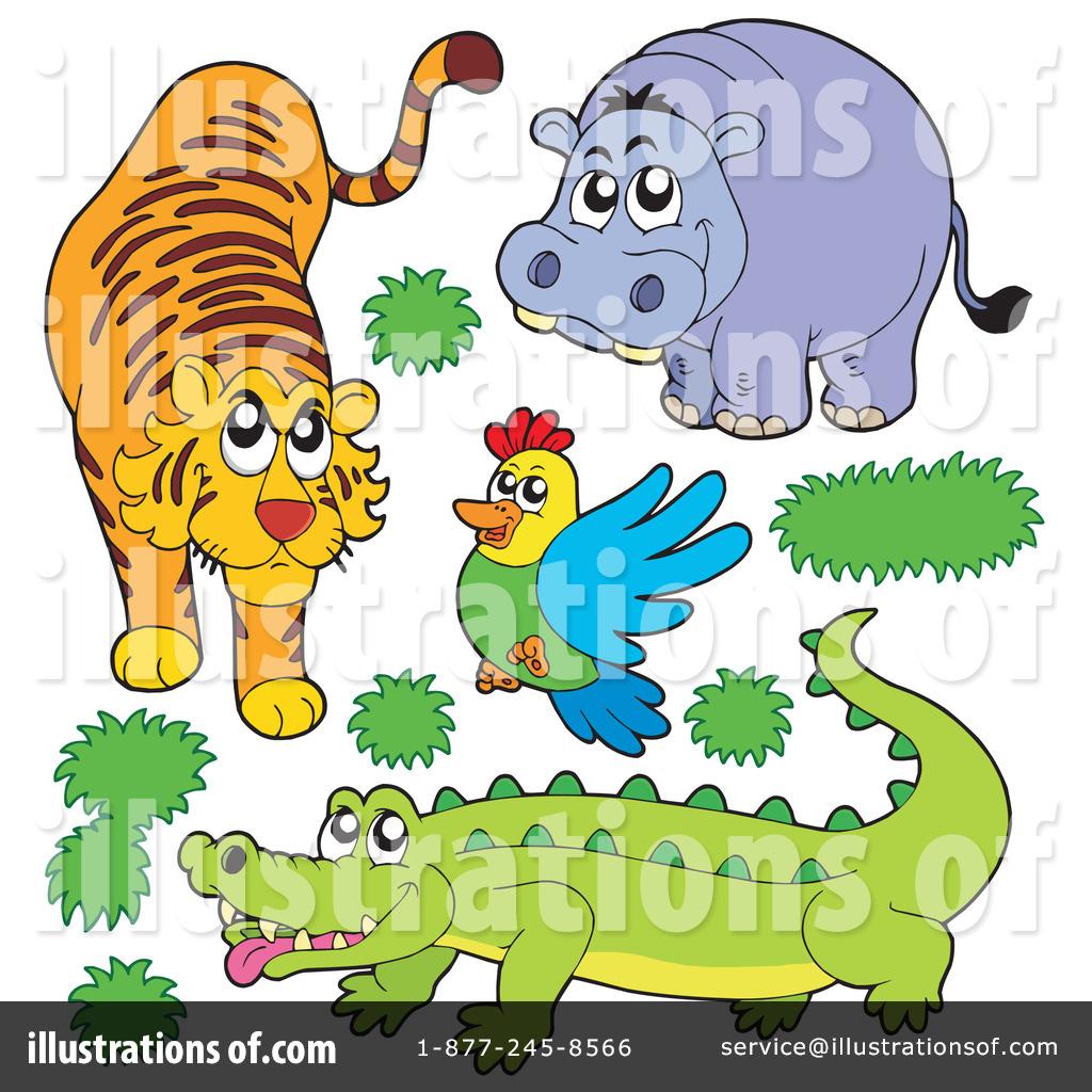 Животные зоопарка рисунки 2
