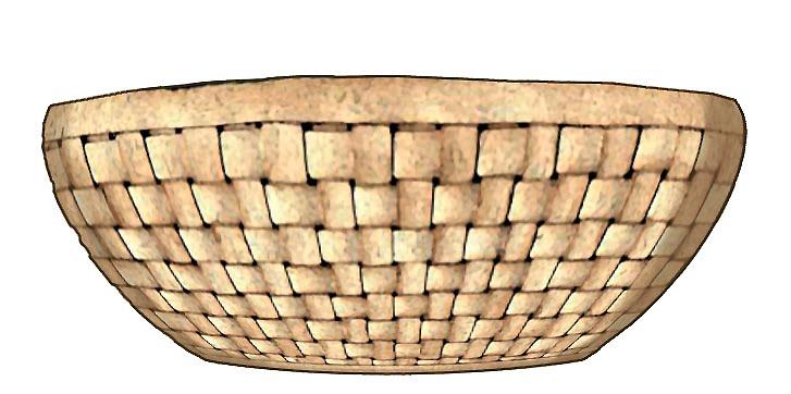 Empty bushel basket clipart clipart suggest for Clipart basket