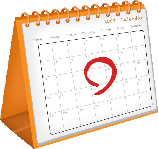 free clipart for teachers calendar - photo #7
