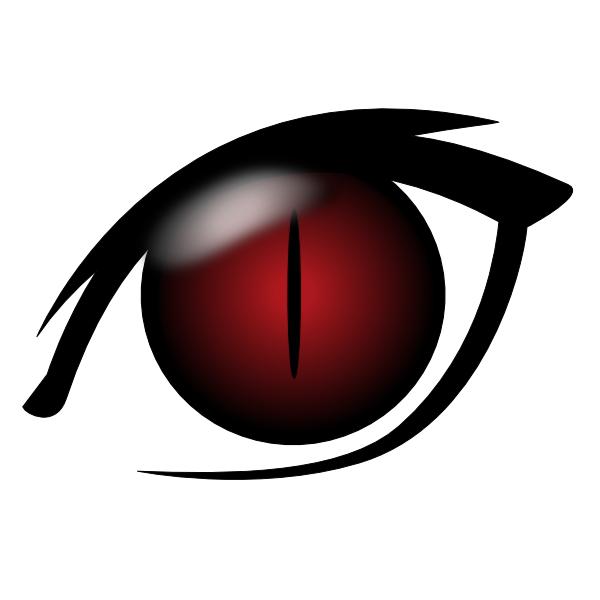 Devil Eye Clip Art At Clker Com   Vector Clip Art Online Royalty Free