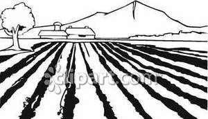 Clip Art of a Field – Cliparts