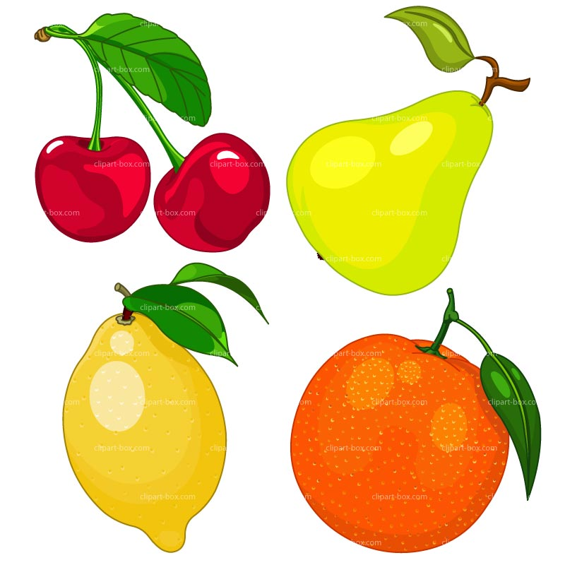 Fresh Fruit Clipart - Clipart Kid