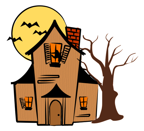 Haunted House Color   Clipart Panda   Free Clipart Images