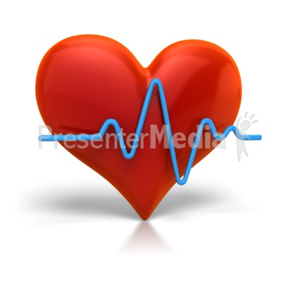 Heart Beat Cardiogram   Signs And Symbols   Great Clipart For